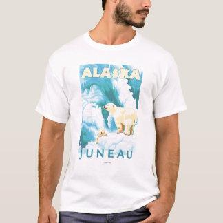 T-shirt Ours blancs et CUB - Juneau, Alaska