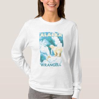 T-shirt Ours blancs et CUB - Wrangell, Alaska
