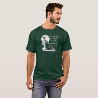 T-shirt Ours. Cascade. Peuvent vos traînées s'enrouler…