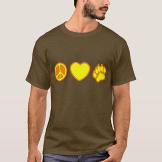 T-shirt Ours d'amour de paix