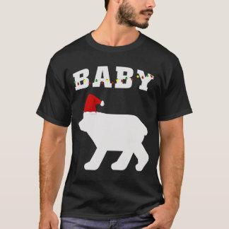 T-shirt Ours de bébé avec l'assortiment de pyjama de Noël