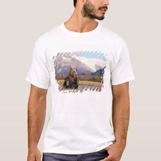 T-shirt Ours de Brown, ours gris, dans le lit de la