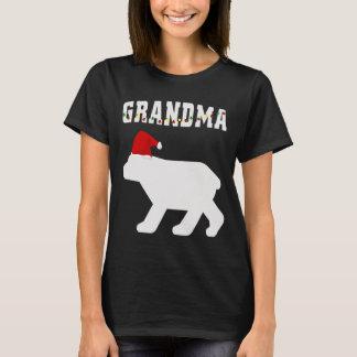 T-shirt Ours de grand-maman avec le match de pyjama de