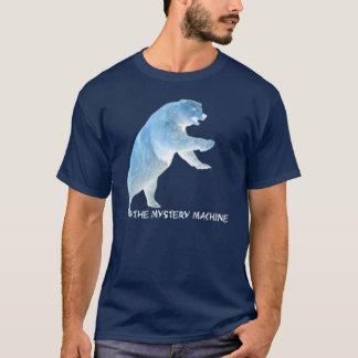 T-shirt Ours de machine de mystère (chemise foncée)