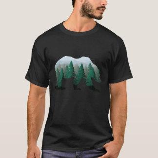 T-shirt Ours de région boisée