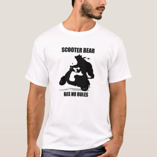T-shirt Ours de scooter