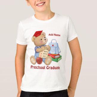 T-shirt Ours d'école - diplômé d'école maternelle