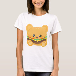 T-shirt Ours d'hamburger