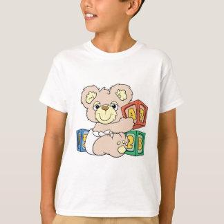 T-shirt Ours et blocs mignons de bébé