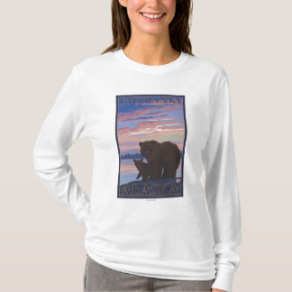 T-shirt Ours et CUB - Fairbanks, Alaska