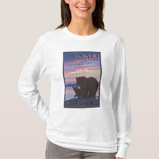 T-shirt Ours et CUB - parc national de Denali, Alaska