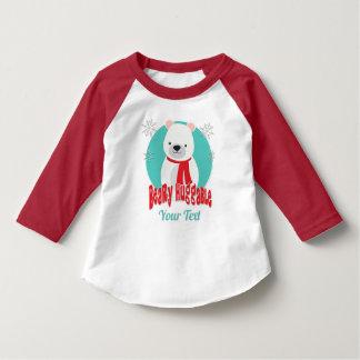 T-shirt Ours gentil à croquer de Noël d'hiver de Beary