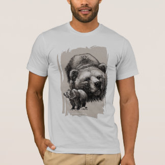 T-shirt Ours gris