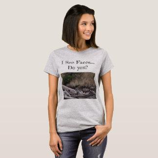 T-shirt Ours gris caché