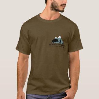T-shirt Ours gris drôle