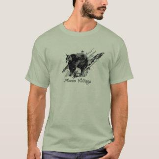 T-shirt Ours mono de village