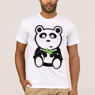 T-shirt Ours panda et bambou