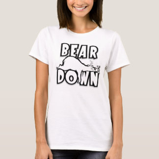 T-shirt Ours vers le bas