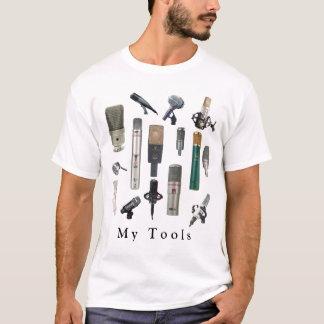 T-shirt Outils audio d'ingénieur