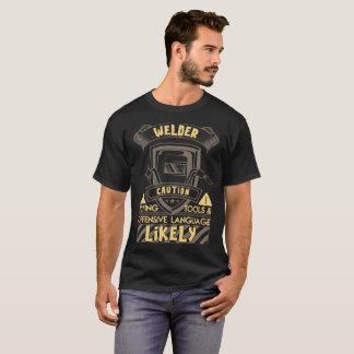 T-shirt Outils de vol de précaution de soudeuse