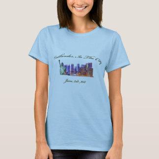 T-shirt Outlander dans la ville - 3 juin 2017