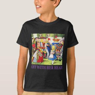T-shirt Outre de avec sa tête !
