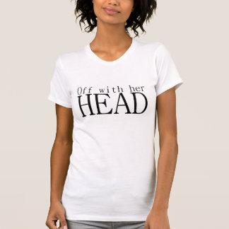 T-shirt Outre de avec sa tête