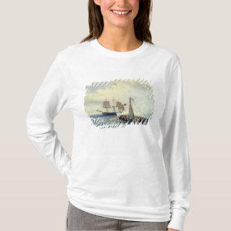T-shirt Outre de la côte de l'île de Nargen