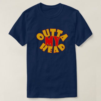 T-shirt Outta ma chemise principale de logo