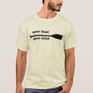 T-shirt ouvrez le bateau