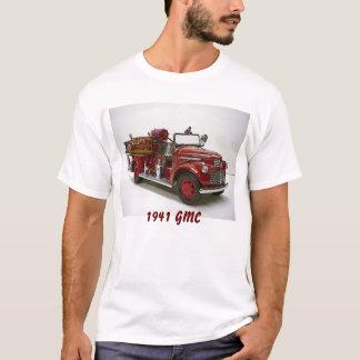 T-shirt Ouvrier chargé des pompes 1941 de pompe à incendie