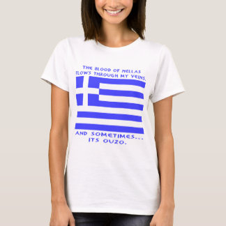 T-shirt Ouzo grec