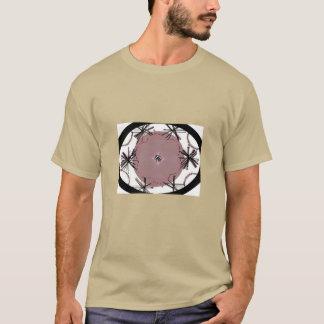 T-shirt Ovale d'art de Graphiic