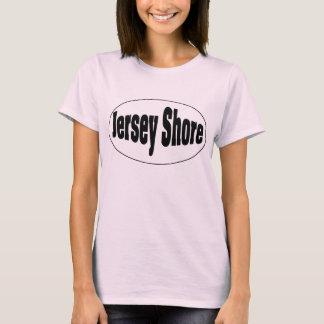 T-shirt Ovale de rivage du Jersey