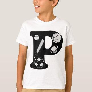 T-shirt p initial