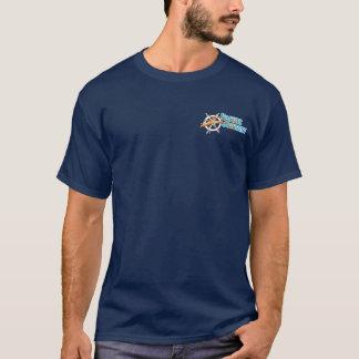 T-shirt Pacifique d'équipage de voyage