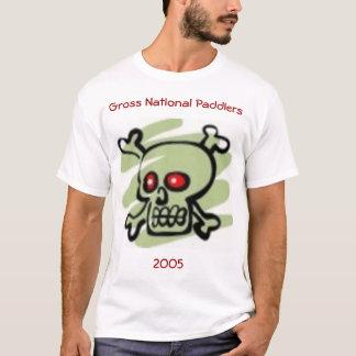 T-shirt paddlers nationaux bruts 2005