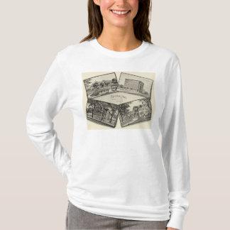T-shirt Page commémorative blanche de Nathaniel