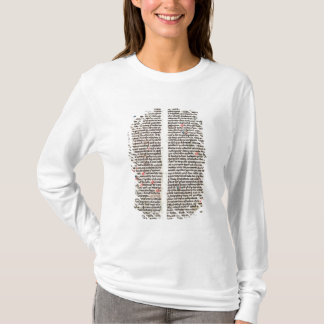 """T-shirt Page de la """"Somme de Theologie'"""