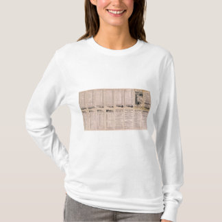 T-shirt Page Montréal des textes et compagnie aérienne de