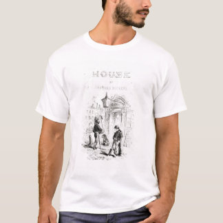 T-shirt Page titre 'de House morne