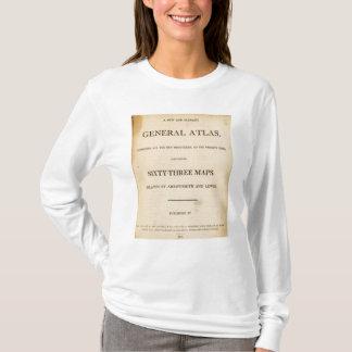 T-shirt Page titre nouvelle, atlas général élégant
