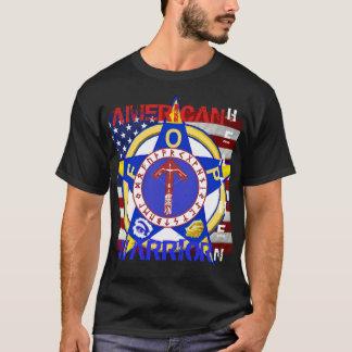 T-shirt Païen américain--Police