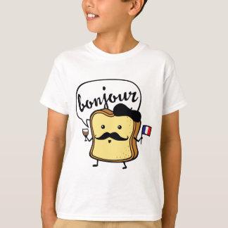 T-shirt Pain grillé français