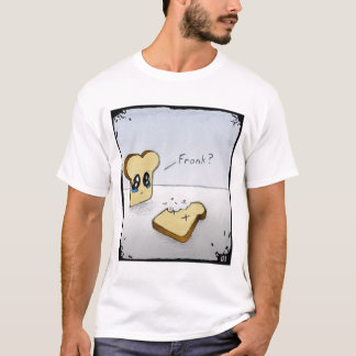 T-shirt Pain grillé triste