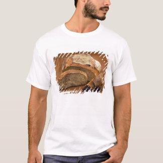 T-shirt Pain rond de style campagnard coupé dans les