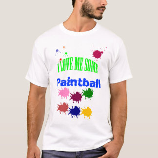 T-shirt Paintball