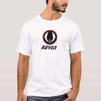 T-shirt paintball de corbeau
