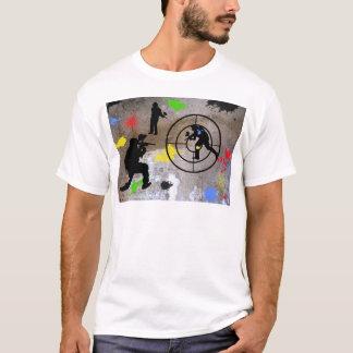 T-shirt Paintball de guérillero urbain