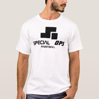 T-shirt paintball spécial d'ops